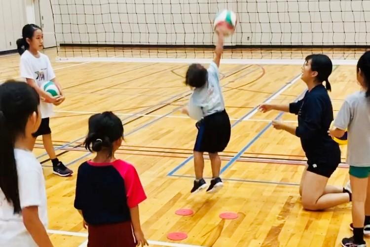 小学生バレーボールスクール